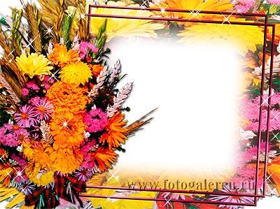 Шаблон поздравительной открытки с цветами на все случаи жизни